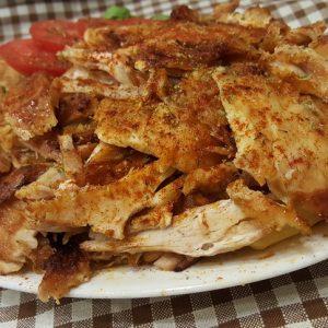 Μερίδα γύρο κοτόπουλο